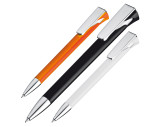 Kugelschreiber aus Kunststoff mit großem Clip